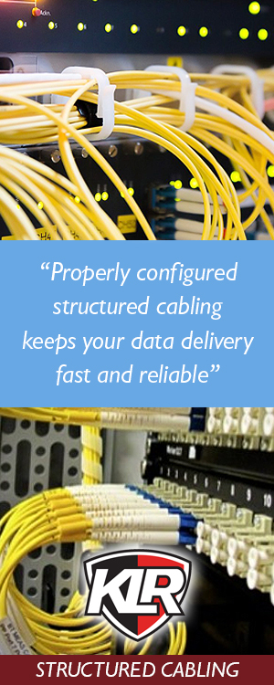 Structured Cabling from KLR Fire and Security